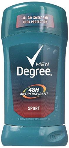 Degree Men Dry Protection Antiperspirant Deodorant Sport 2.7 oz(Pack of 4) (Sport Deodorant 24)