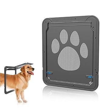 QNMM Puerta De Malla para Mascotas Ventana De Pantalla Robusta para Gatos Ventana De Malla Magnética para Amantes De Mascotas para Gatitos Y Perros ...
