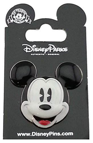 WDW Trading Pin - Mickey Mouse 3D Sculpted Face - Head ()