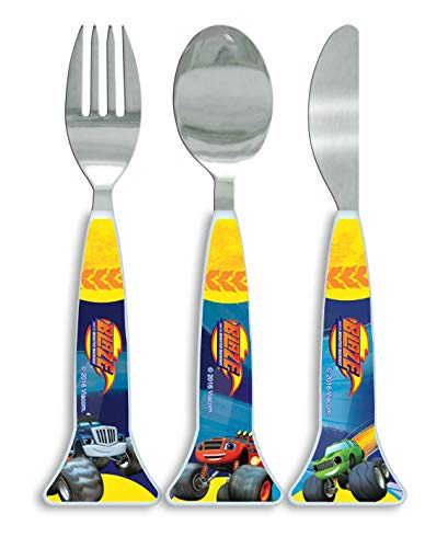 Blaze and the Monster Machines 3PC Cutlery Set
