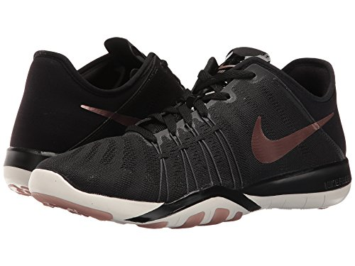 Nike 833413-005 - Zapatillas de deporte Mujer Negro (Black / Mtlc Red Bronze / Summit White)