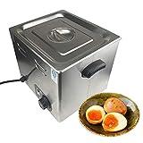 Li Bai Commercial Electric Egg Cooker Japanese Hot Spring Egg Maker 60 Eggs Capacity 2600W 110V for Soft Boiled Eggs