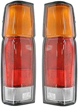 Rear Taillight Taillamp Brake Light Passenger Side Right RH for 86-97 D21 Pickup