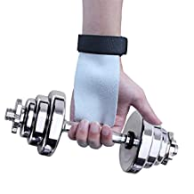 Edealing Leather Gymnastic Hand Palm Protector Grips Wrap For Weightlifting Olympic Lifting and Gymnastics Fitness
