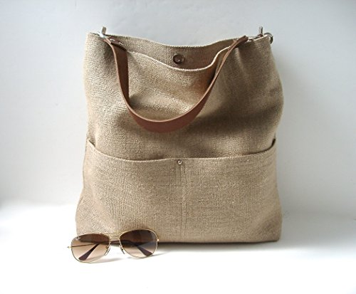 Woven Jute Bucket Bag by Independent Reign - New York