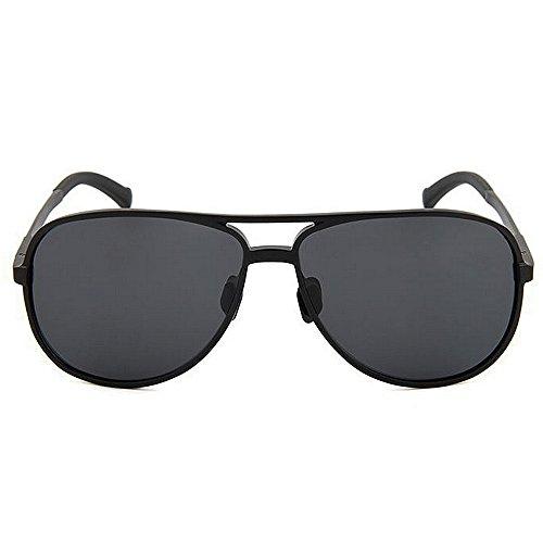 Colores Mujer Yxsd Hombre del de SunglassesMAN para para Blue Protección de Black Color la Aviador UV polarizadas Gafas Sol 400 SwA44O0