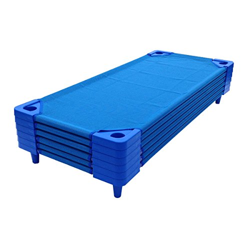 Stackable Cot - 6 pk. - Stackable Standard Daycare Cots - 52