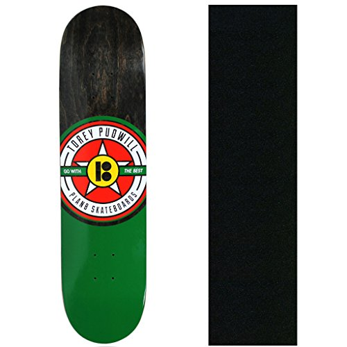 健康的課す掃くプランBスケートボードデッキPudwill Sign 7.75