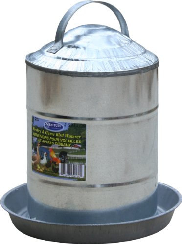 steel chicken waterer - 6