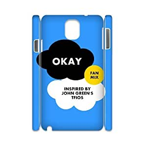 case Of Okay Okay 3D Bumper Plastic customized case For samsung galaxy note 3 N9000