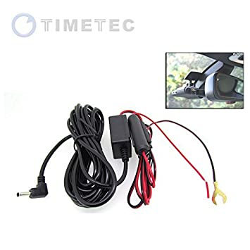 41y7xW8toYL._SY355_ amazon com timetec hard wiring 12v power cord kit for roadhawk automotive wiring kits at readyjetset.co