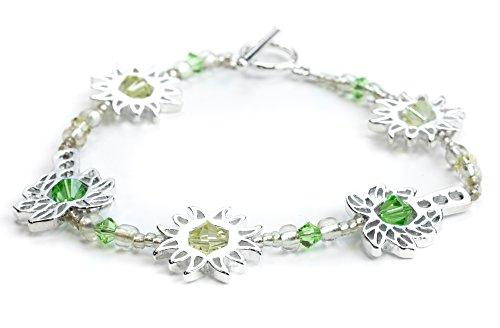 Crystazzi Sun-Palm Tree Bracelet and Gift Tin