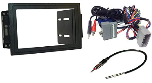 Radio Install Double Din Dash Kit, Retains Steering controls, wire harness, antenna adapter to replace a Nav. system: Fits Dodge Magnum (05-07), Ram (06-07), Commander (06-07) Jeep Compass ()