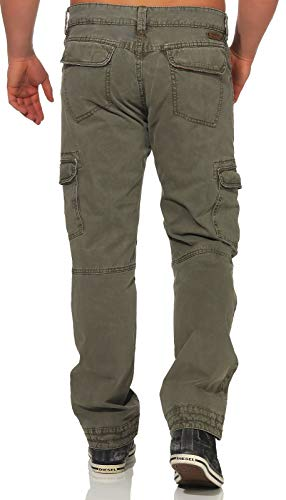 Bentz Pantalones Grün Timezone Green Regular light Oregano Hombre 4047 Para 4SxFxT