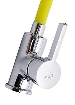 Grifo de la cocina contempor/ánea grifo m/últiples opciones de color de grifo 360//° giratorio resistente cuerpo de lat/ón acabado cromado morado