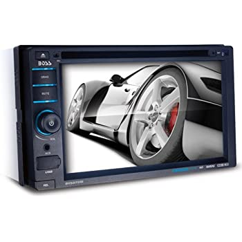amazon com boss audio bv9386nv double din touchscreen bluetooth boss audio bv9372bi double din touchscreen bluetooth dvd cd mp3 usb sd am fm car stereo 6 2 inch digital lcd monitor detachable front panel