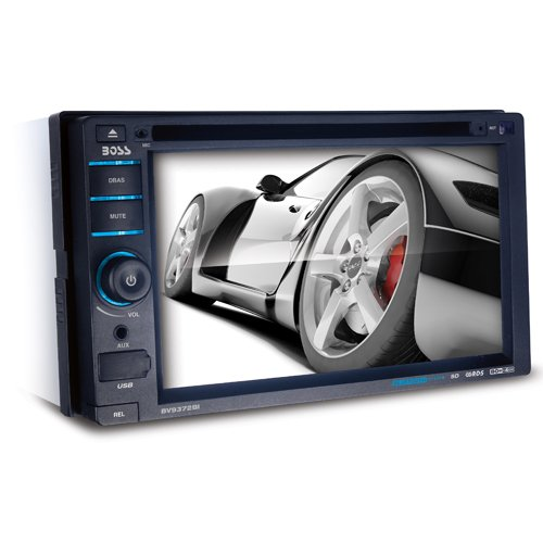 BOSS AUDIO BV9372BI Double-DIN 6.2 inch Touchscreen DVD Player Receiver, Bluetooth, Detachable Front Panel, Wireless Remote (Toyota Yaris Dvd compare prices)