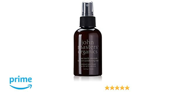 john masters organics Green Tea & Calendula Leave-In Conditioning Mist - lacas para el cabello (Mujeres, Aqua (water), aloe barbadensis leaf juice*, ...