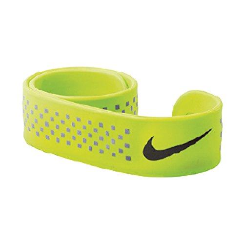 Baseball Wristbands Nike (Nike Running Slapband (Volt/Black))