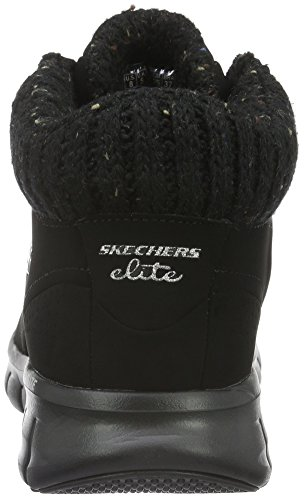 Synergy winter Skechers Nights Negro Mujer Para Botas bbk z7f7nZ