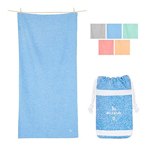 - Gym Towels and Workout Towel - Lagoon Blue, 40 x 20 - Gym, Sports & Workout - Compact Gym Towel, Sports Towel