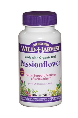 Organic Whole Herb Passionflower