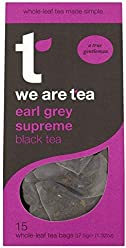 We Are Tea Earl Grey Supreme Teabag 15 Per Pack