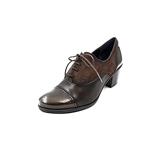 af04ae07 Zapato abotinado cordones Dorking-Fluchos - Disponible en colores burdeos y  café - 6884 -