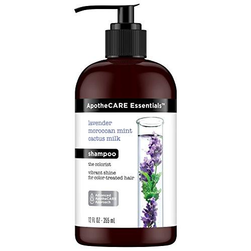 ApotheCARE Essentials The Colorist Shampoo, Lavender, Moroccan Mint, Cactus Milk, 12 oz -