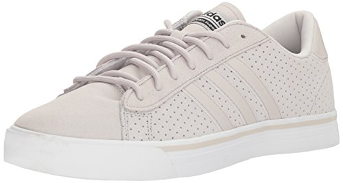 adidas Neo Men's CF Super Daily Sneaker,Chalk Pearl/Chalk Pearl/core Black,7 M US by adidas