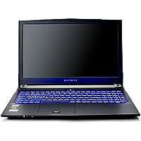 """Eluktronics N850HK1 Pro-X Premium Gaming Laptop - Intel Core i7-7700HQ Quad Core Windows 10 Home 4GB GDDR5 NVIDIA GeForce GTX 1050 Ti 15.6"""" Full HD IPS Display 128GB PCIe NVMe SSD + 8GB DDR4 RAM"""