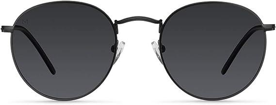 Meller Yster Collection - Gafas de sol polarizadas unisex UV400 minimalista rodondo