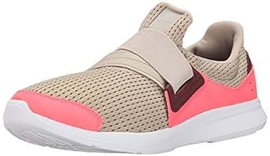 adidas Performance Women's Lite Slip-On W Women's Running Shoe, Brown/Brown/Pink, 10.5 M US