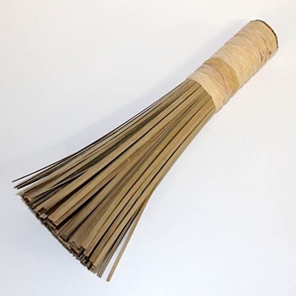 Bamboo Wok Brush Cooking Clean Tool Utensils Restaurant Kitchen Practical