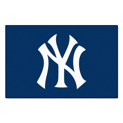 FANMATS MLB New York Yankees Nylon Face Starter Rug