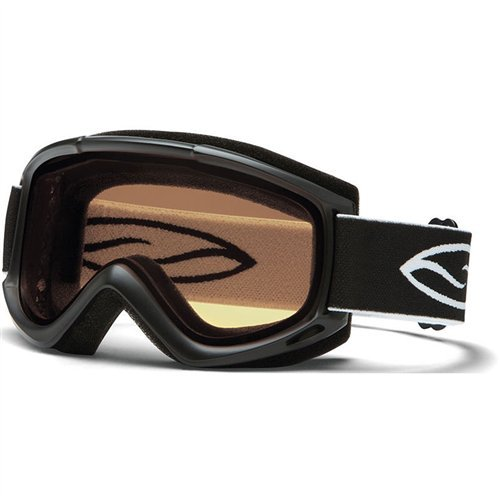 Smith Optics Adult Cascade Classic Snow Goggles Black - Optics Clear
