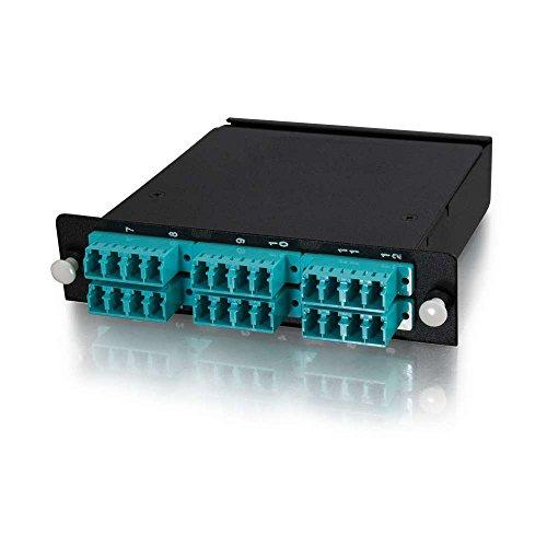 - Q-SeriesTM 24-Strand MTP/MPO-LC LOMM 50/125 Module - Method B