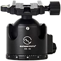 SUNWAYFOTO XB-52 Tripod Ball Head Arca Compatible Low COG 132lb Max Load XB52 Sunway
