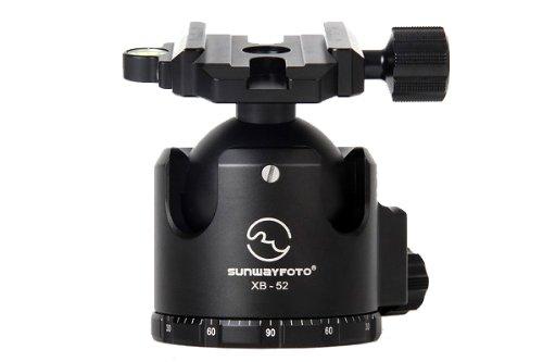 SUNWAYFOTO xb-52 Tripod Ball Head Arca Compatible低重心132lb Maxロードxb52 Sunway   B007IVT794