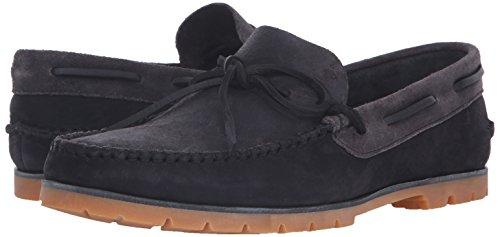 Woolrich Mens Lake House Bateau Chaussure Noir