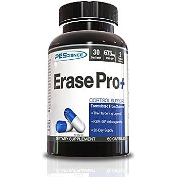 PEScience Erase Pro+ Hardening Agent Capsules, 60 Count