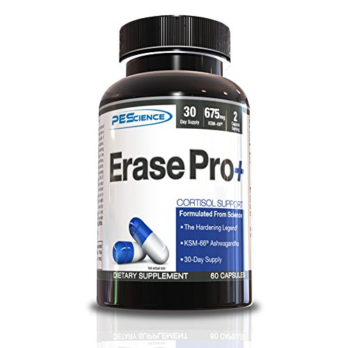 Estrogen Blocker (PEScience Erase Pro+, Hormone Modulator, 60 Capsules, Estrogen and Cortisol Blocker)