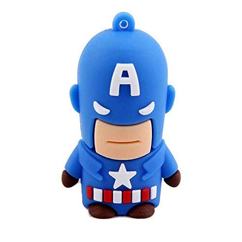 Captain America 16GB USB Flash Thumb Drive Storage Device