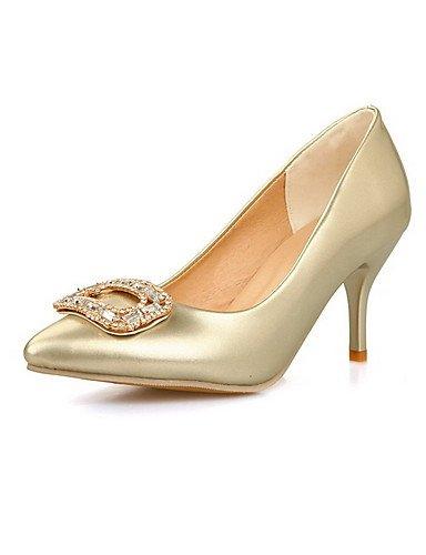 GGX GGX GGX  Damen-High Heels-Lässig-Kunststoff-Stöckelabsatz-Absätze   Stile   Spitzschuh   Geschlossene Zehe-Blau   Rosa   Weiß   Gold B01KL7ISSC Sport- & Outdoorschuhe Bestellungen sind willkommen 4020a1
