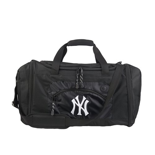 The Northwest Company MLB New York Yankees Roadblock Duffle, Large, Black
