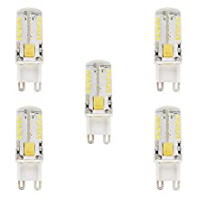 5W G9 LED Lights T 57 SMD 3014 300-350 lm Warm White Cool White Waterproof AC/DC 12 V 5 pcs ( Beam Angle : 360° , Light Source Color : Warm White-12V )