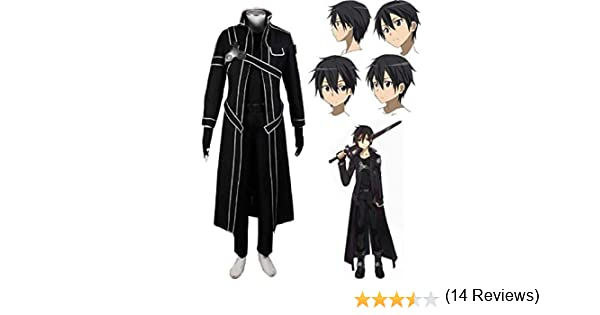 Sword Art Online SAO, Disfraz de Kirito, Anime, Uniforme de ...