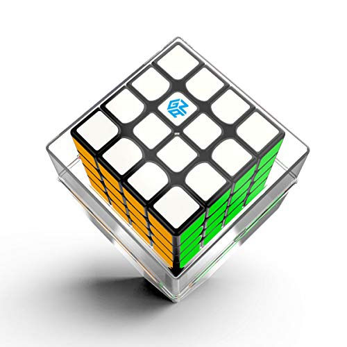 GAN 460 M Speed Cube, 4x4 Magnetic Master Cube Gans 460M Puzzle Toy(Stickered)