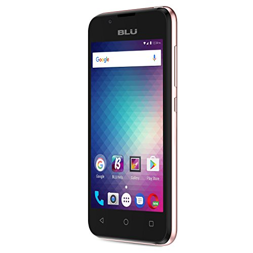 BLU Advance 4.0 L3 -Unlocked Dual Sim Smartphone -Rose Gold