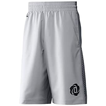 85ab471d8361 adidas D.Rose Derrick Rose Basketball Shorts Grey F46781